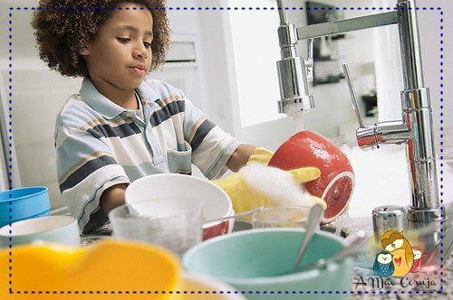 6 ótimas razões para as crianças ajudarem nas tarefas de casa