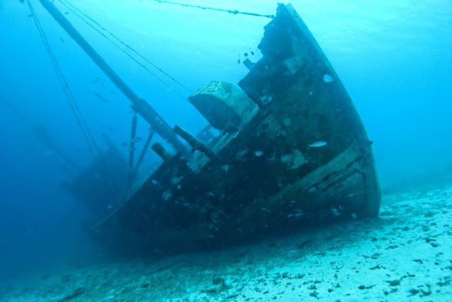 Real Sunken Pirate Ships | bermuda driehoek