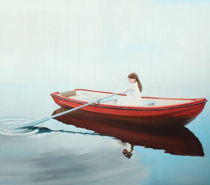 Elin Engelsen Pige i rød båd http://www.bruun-rasmussen.dk/index.do