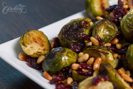 sprouts with cranberries and pine nuts roasted brussels sprouts pine ...