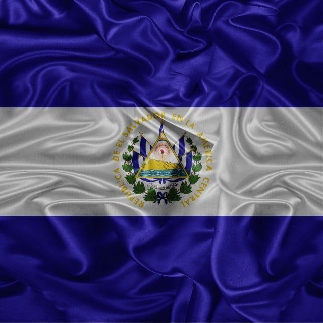 El Salvador Bandera Ilustracion Vector Agitando Fibra 3d El Salvador Bandera De El Salvador Ilustracion De La Bandera De El Salvador Png Y Psd Para Descargar El Salvador Flag Creative Background