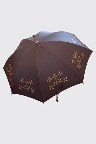 Beau Umbrella- Stencil Painted