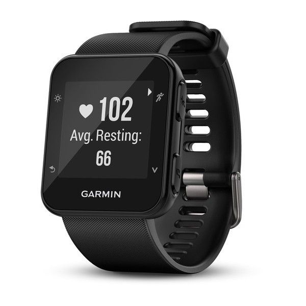 Complete with a strong battery, the Forerunner 35 can last for a week and a half in activity tracking mode and up to 13 hours in training mode when using the GPS and heart rate module.