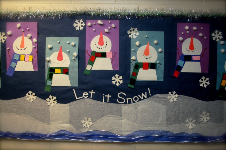 17 Best Ideas About Winter Bulletin Boards On Pinterest