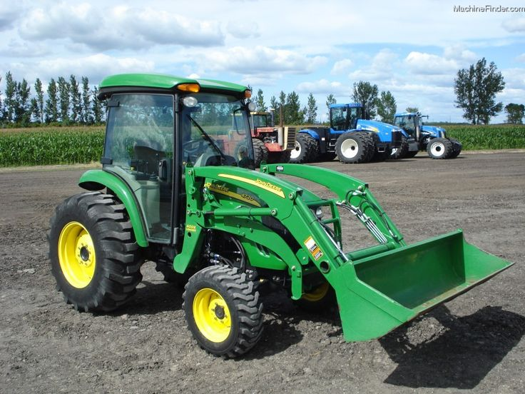 new john deere 4720 cab | 2008 John Deere 4720 Tractors - Compact