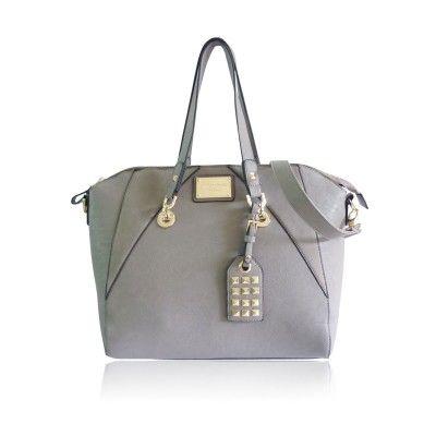 The Scherzinger Bag by Anna Smith in Grey