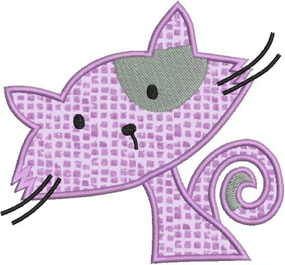 CATS+machine+embroidery+Applique+Design+SET+OF+by+embroiderquilt,+$8.00