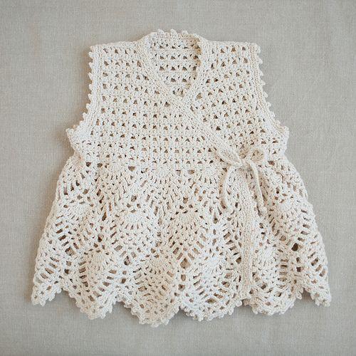 gorgeous baby kimono vest