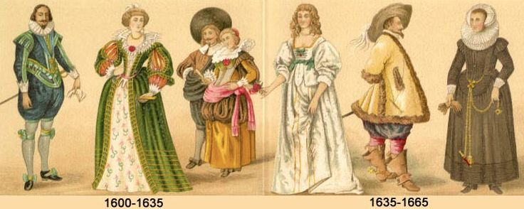 1600s Costume In England A Brief History Of Fashion Pinterest England In And Costumes