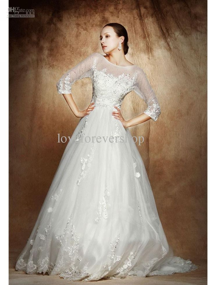 Modern Winter Wedding Dresses : Wedding dresses gorgeous gowns winter