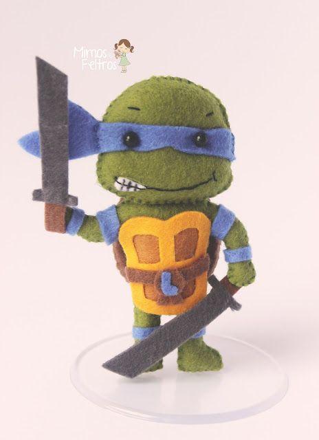 Leonardo - Tartarugas Ninjas