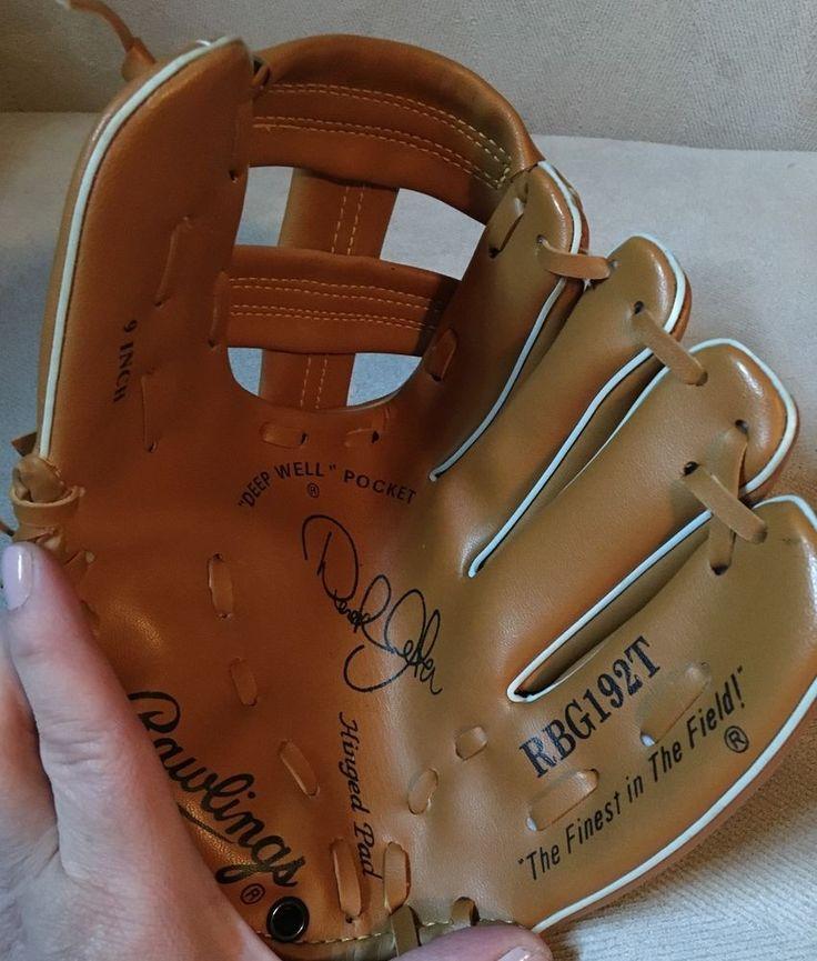 Rawlings Youth Baseball Glove Derek Jetted RBG192T Sports Equipment  | eBay