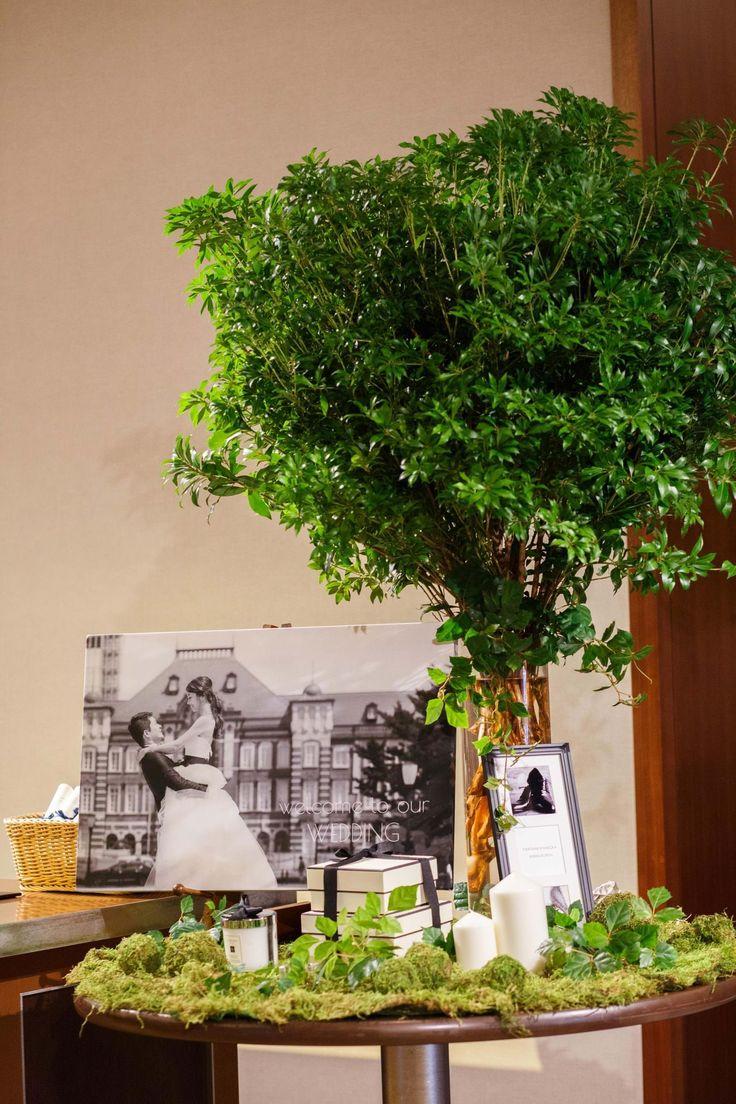Photography: unison | Ryoko Igari #ウェルカムボード #ウェルカムツリー #diy #weddingflowers