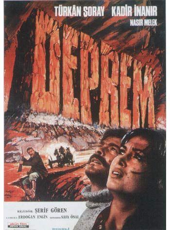 deprem film afisi, deprem film afişi