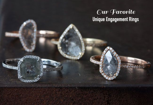 Unique Engagement Rings + Ring Cleaning Tips from Jewelers Mutual | Green Wedding Shoes Wedding Blog | Wedding Trends for Stylish + Creative Brides
