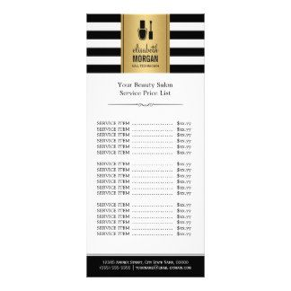 Nail Salon Price List Gifts on Zazzle
