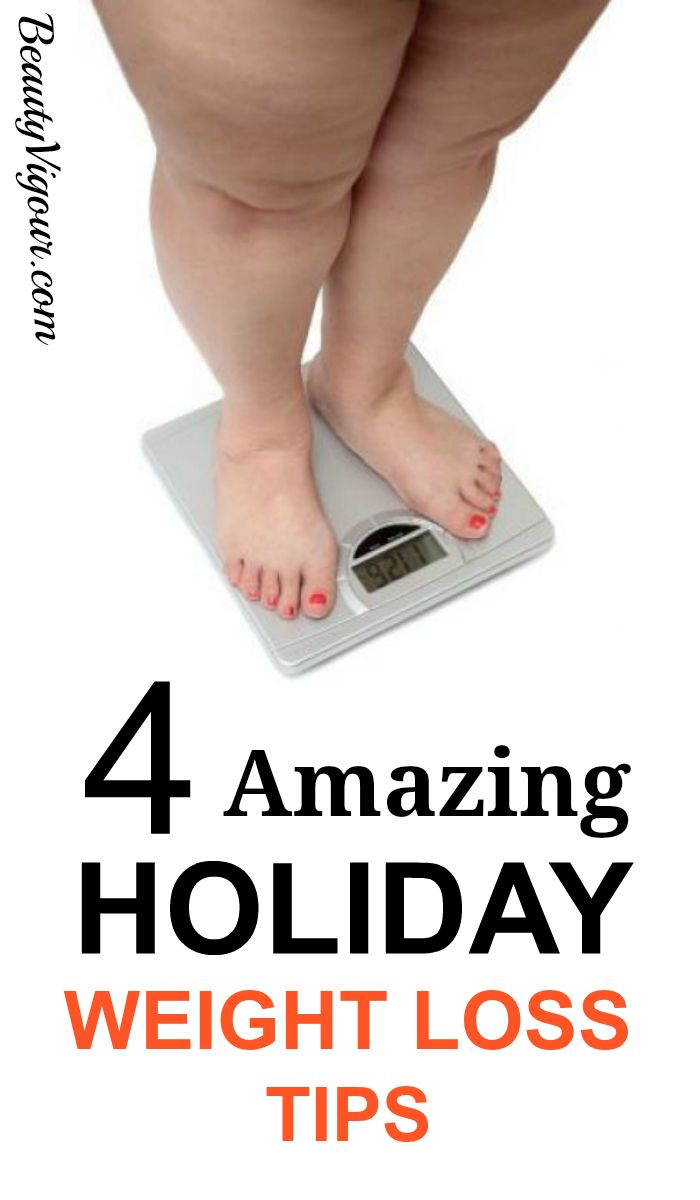 4 Amazing Holiday Weight Loss Tips