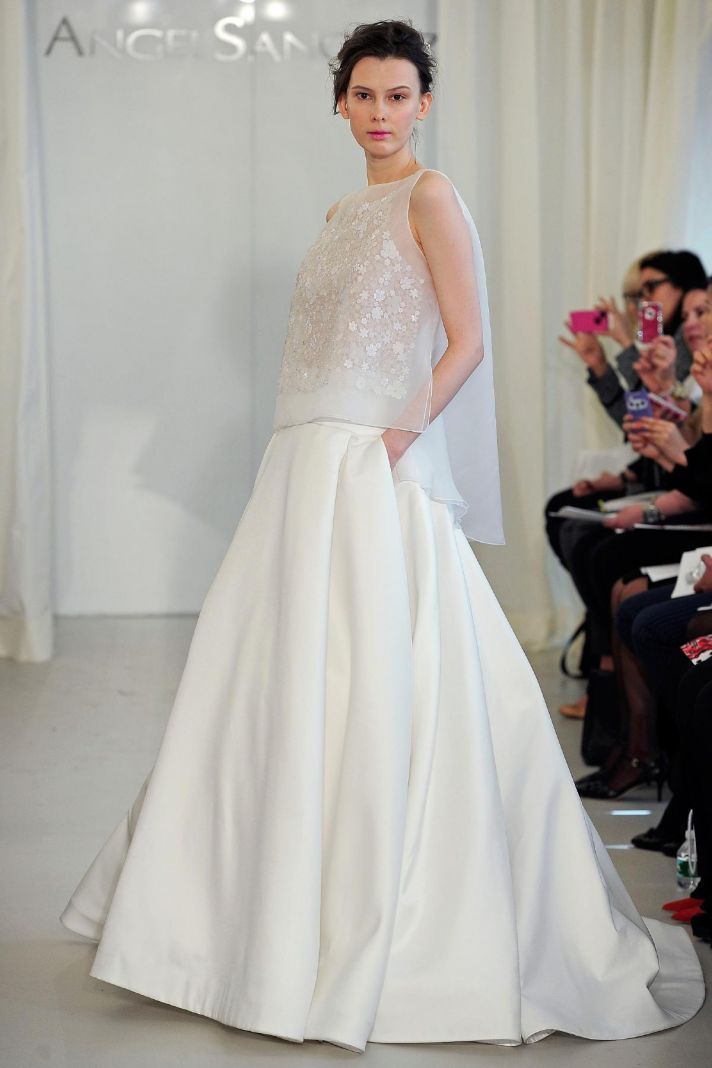 Angel Sanchez wedding dress Spring 2014 Bridal 2