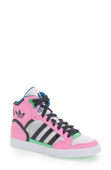adidas 'Extraball' High Top Sneaker (Women) available at #Nordstrom