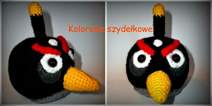Kolorowe szydełkowe: Angry Birds - druga odsłona