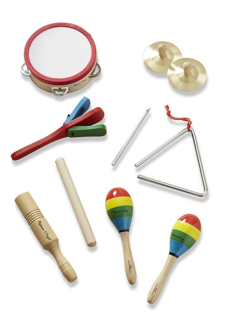 Melissa & Doug Band-in-a-Box Clap! Clang! Tap! - 10-Piece Musical