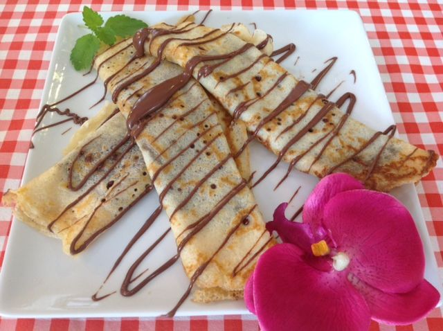 Everybody´s favorite: crepes with nutella