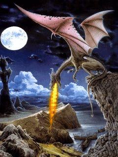 imagenes con movimiento de dragones - Buscar con Google