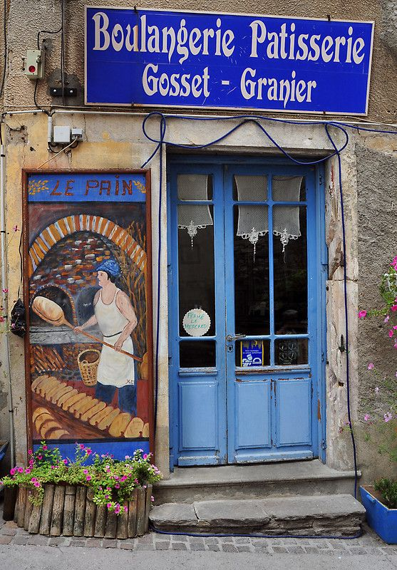 Boulangerie Patisserie in Olargues ~ France