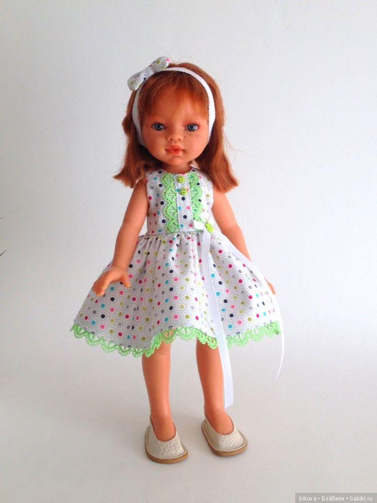 Мои Кошечки и Зайчики и просто Платья для кукол Паола Рейна / Одежда и обувь для кукол своими руками / Бэйбики. Куклы фото. Одежда для кукол