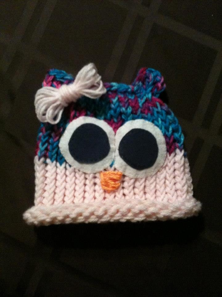 """My little stinkers hats """"little girl who hat"""" all sizes $7 for 0-8months $10 for 1 year and older $15 for Adults www.facebook.com/mylittlestinkershats."""
