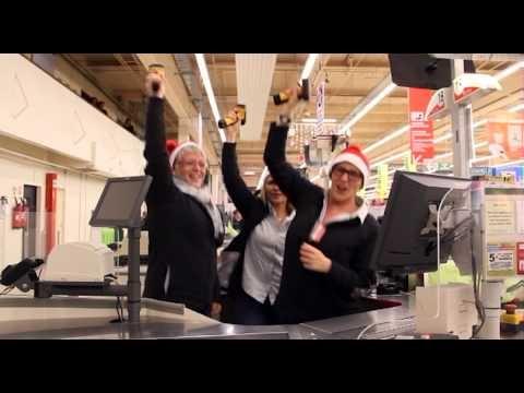 clip Auchan Noel Gangnam Style