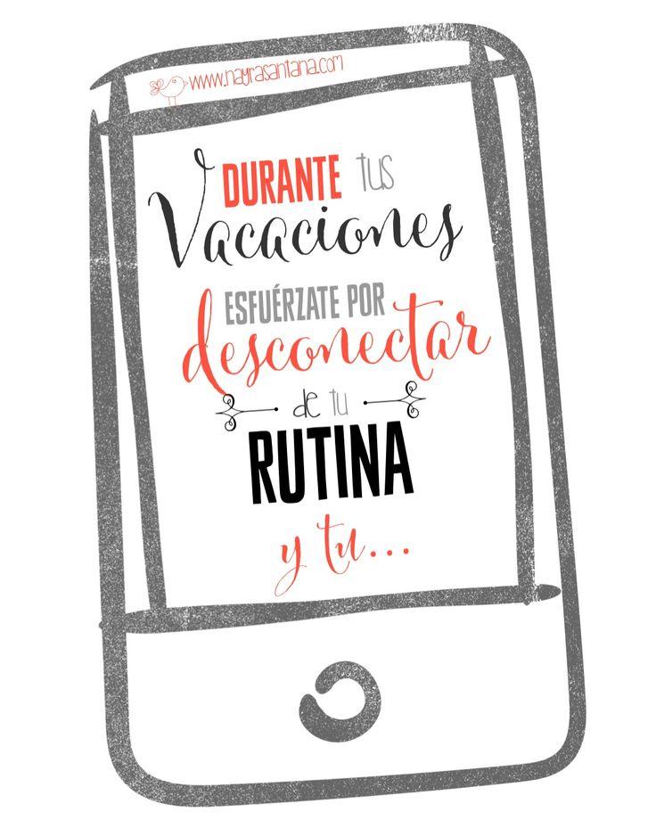 Dedícale #AtenciónPlena a tu momento PRESENTE, para ello desconecta de tu rutina de vez en cuando y sobre todo y ante todo de tu móvil