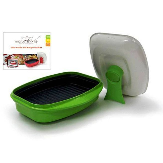 Microhearth Grill Pan for Microwave Cooking - Overstock™ Shopping - Great Deals on Microhearth Specialty Cookware