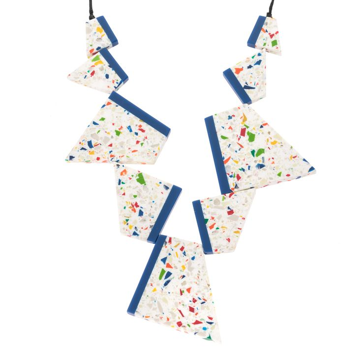 Buy the Trapezoid Panels Necklace at Oliver Bonas. Enjoy free worldwide standard delivery for orders over £50.