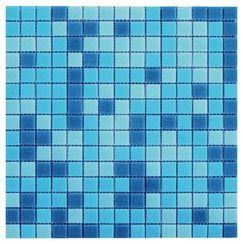 mosaique sur filet atlantic bleue magasin de bricolage. Black Bedroom Furniture Sets. Home Design Ideas