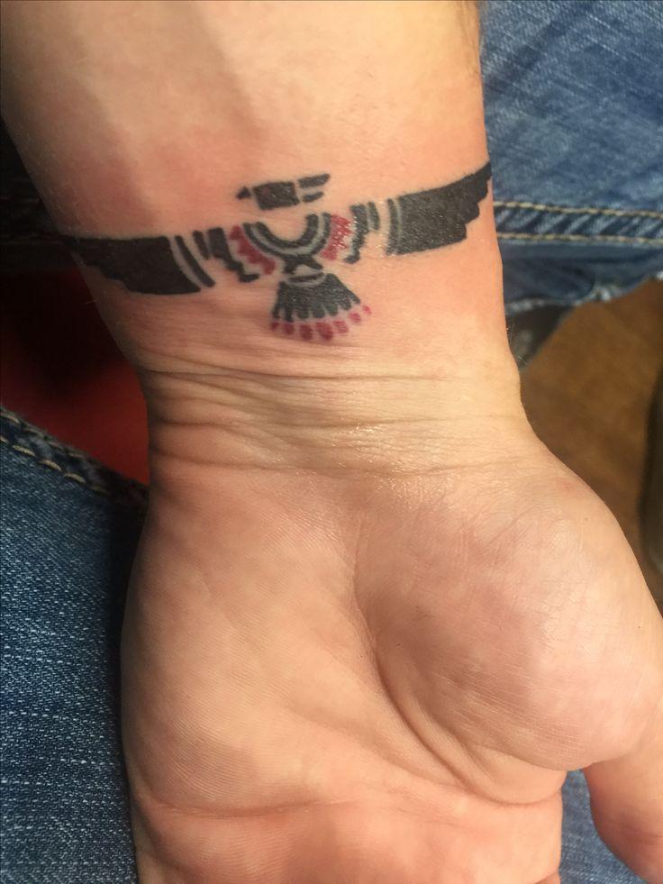 My new tattoo #tattoo #thunderbird #nativeamerican #power