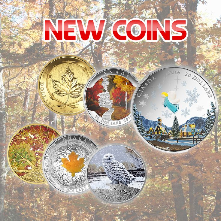 The new coin launch from the Royal Canadian Mint is out! Check out these amazing coins to add to your collection!
