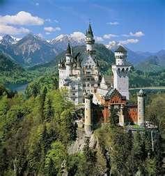 Germany: Sleep Beautiful, German Castles, Walt Disney, Buckets Lists, Cinderella Castles, Disney Castles, Neuschwanstein Castles, Bavaria Germany, Fairies Tales