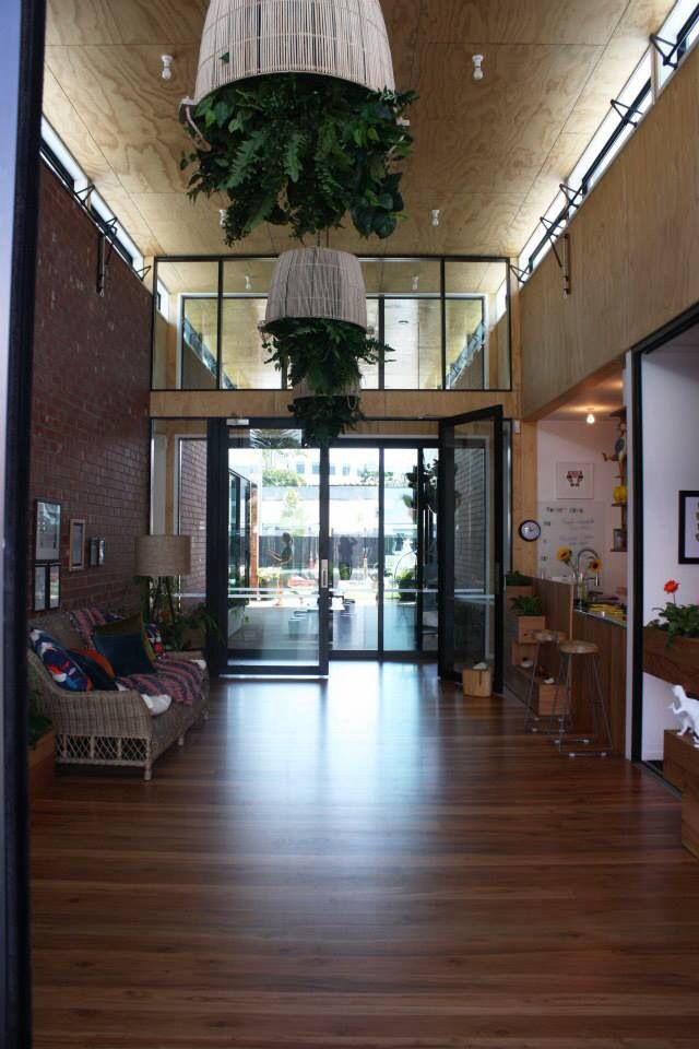 Parent entry with director's office/main office easily accessed - New Shots Children's Centre Tauranga New Zealand www.newshoots.co.nz