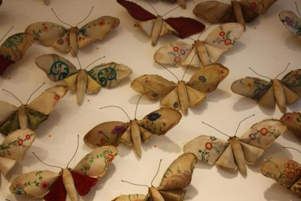 fabric butterflies: Mister Finch, Textile Artists, Finch Textiles, Textiles Artist, Visit Misterfinch, Arty Textile, Craft Ideas, Embroidery, Diy Projects