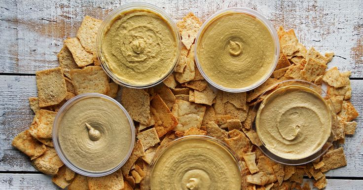We taste-tested every hummus brand we could find to determine the best of the best, one pita chip at a time.
