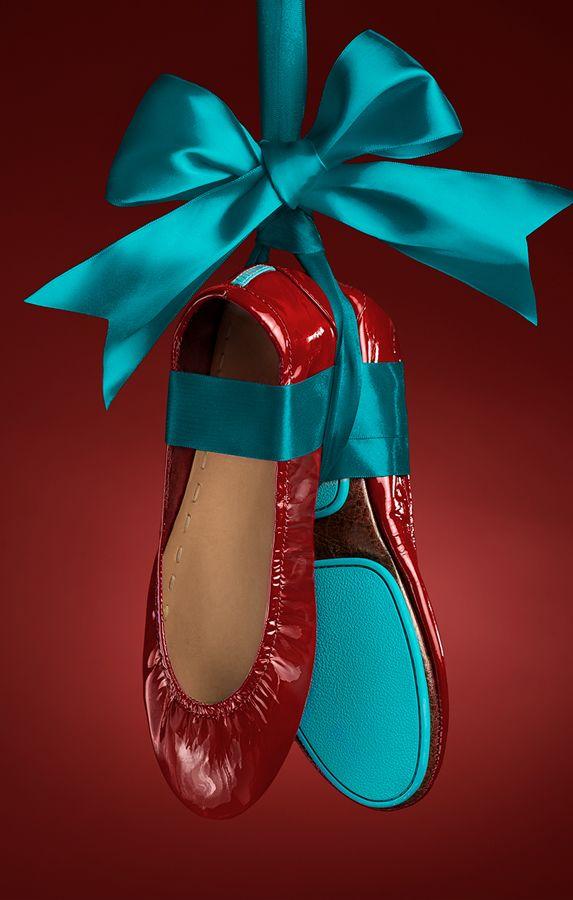 Ruby Red Patent Tieks - the shoe on everyone's list! | Tieks Ballet Flats