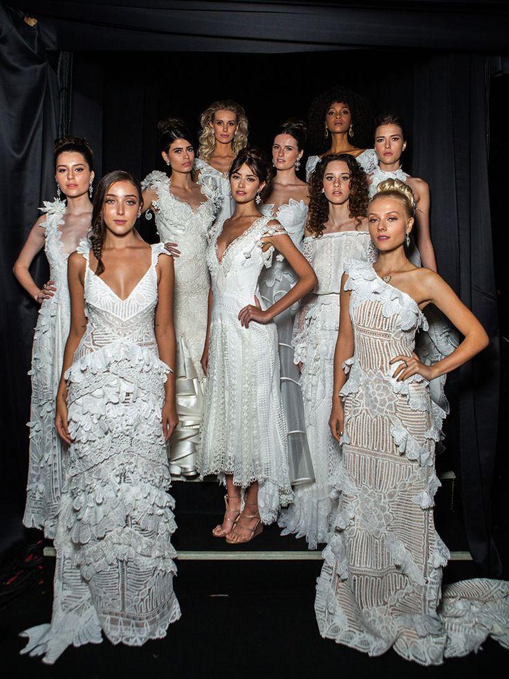 Os vestidos Martha Medeiros 2016 para o evento Casamoda Noivas.
