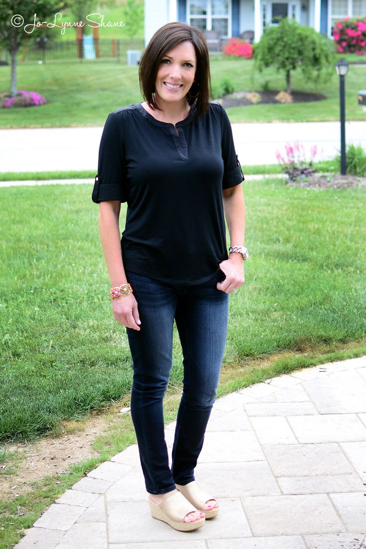 Fashion Over 40 Spring Outfit Ideas featuring DL1916 Florence Skinny Jeans