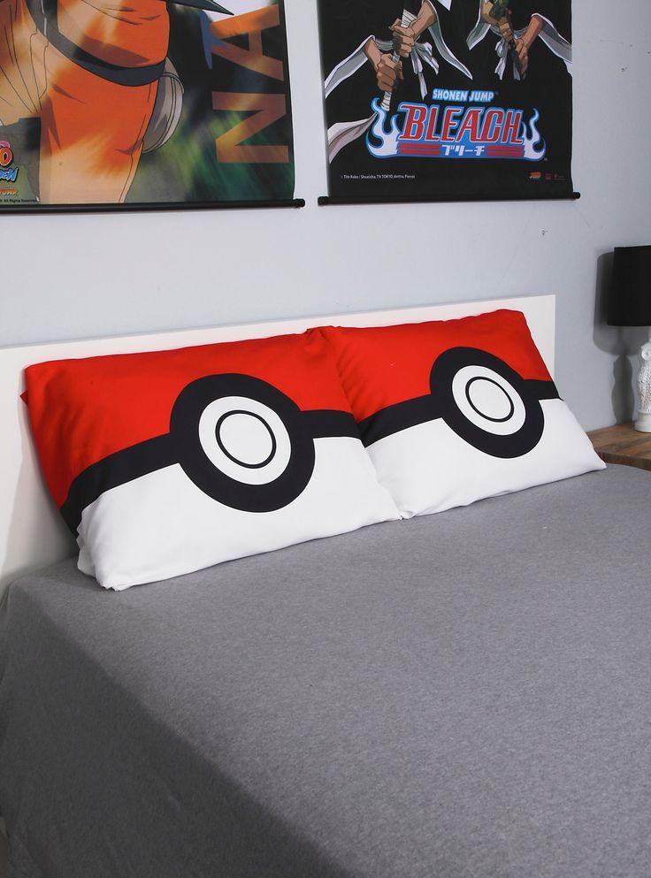 "<p>Gotta catch some Z's!</p>  <p>Super soft pillowcase set from <i>Pokemon</i> with Poke Ball designs.</p>  <ul> <li>20"" x 30""</li> <li>100% polyester</li> <li>Imported</li> </ul>"