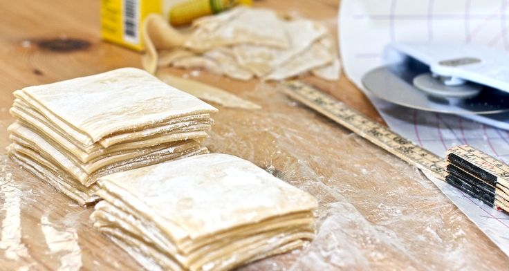 Homemade Wonton Wrappers. Its so easy! And there are so many recipes I've been wanting to use with wonton wrappers =)