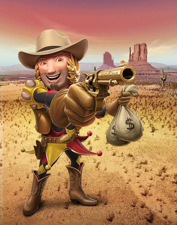 Cowboy by Oscar Ramos, via Behance