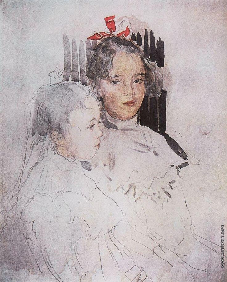Серов В. А. Портрет детей С.С.Боткина