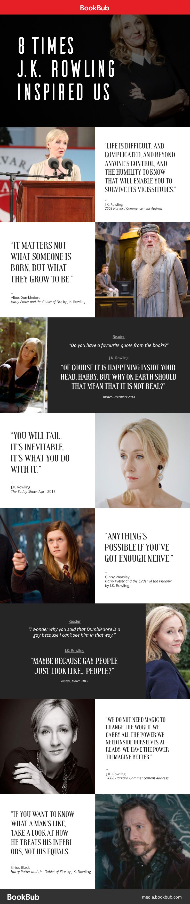 J.K. Rowling's Words of Wisdom: 20 of Her Most Inspiring Quotes