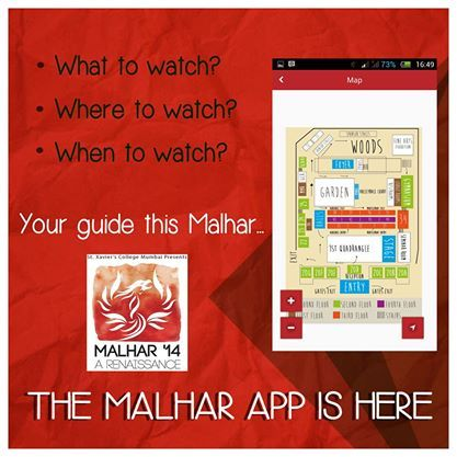 Okay... We're at one of Asia largest college festivals. Now WHAT?  Avoid asking questions like this. Just download the Malhar app and find out what to watch, when to watch and how to get to where you want to watch it. For free: https://play.google.com/store/apps/details?id=org.malharfest.developer&hl=en  Talk about a technology Renaissance!   #RevelInTheNew #TechnologyRenaissance  PS: Only for Android users.
